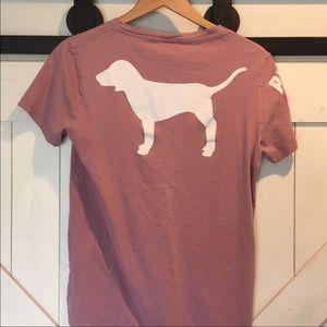 PINK Victoria's Secret Tops - Sale! VS PINK doggy tee